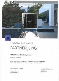 Certyfikat jung zdjecie